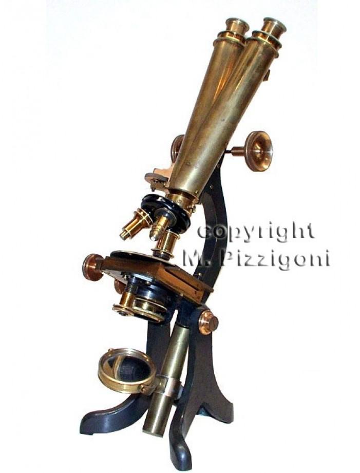 Sand & Hunter microscopi antichi, vintage microscopes, microtome, microtomes