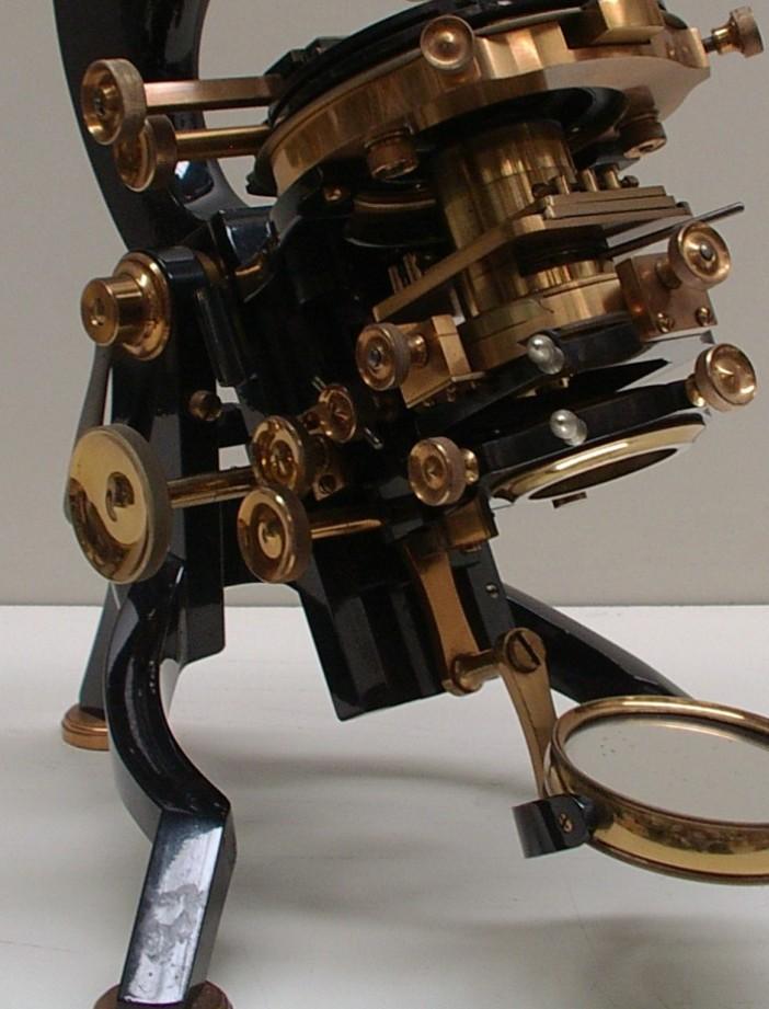 Watson & Sons Van Heurk microscopi antichi, vintage microscopes, microtome, microtomes