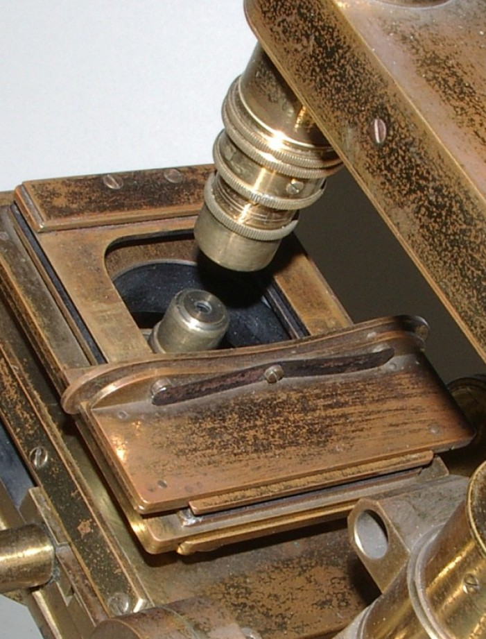 Powell & Lealand  microscopi antichi, vintage microscopes, microtome, microtomes