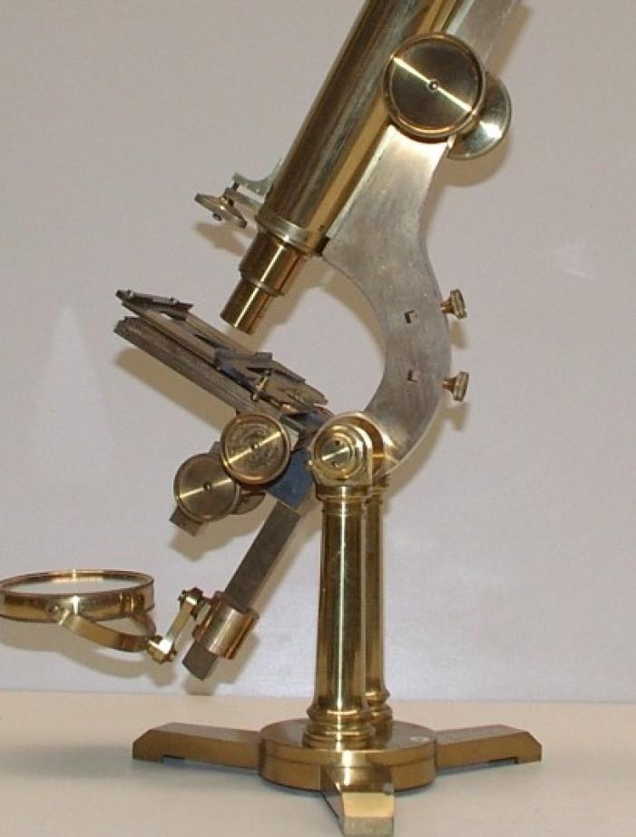 H & W Crouch microscopi antichi, vintage microscopes, microtome, microtomes