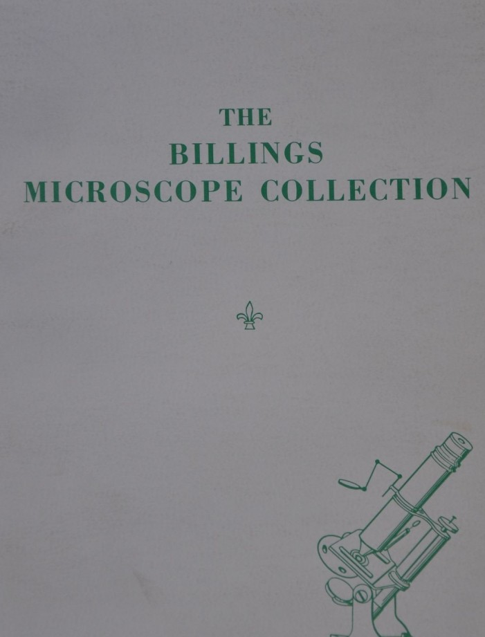 The Billings Microscope Collection per la salute