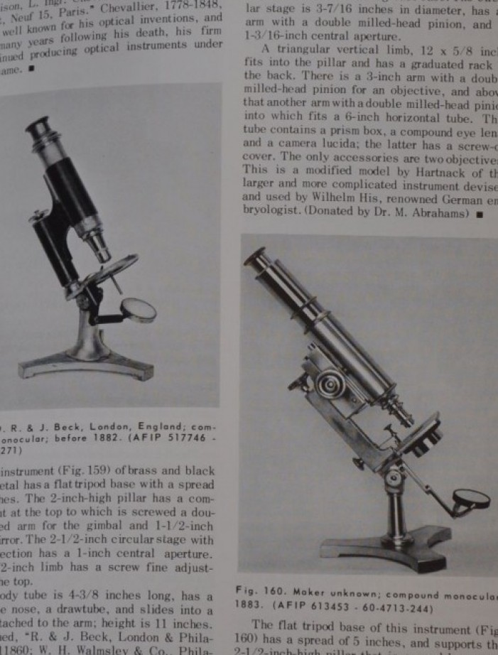The Billings Microscope Collection microscopi antichi, vintage microscopes, microtome, microtomes